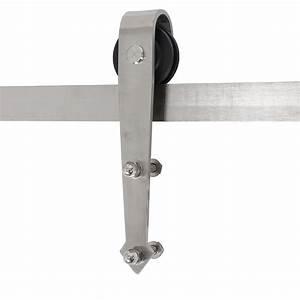12 ft double sliding barn door hardware kit modern style for 12 foot sliding barn door hardware
