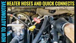 How To Replace The Heater Hoses An Adapters On A 2000-2007 Gmc Yukon  Chevy Suburban