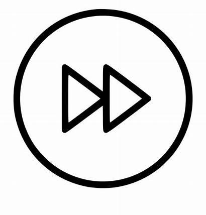 Button Forward Fast Clipart Clip Library Moon