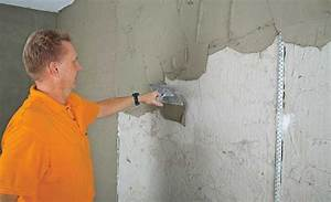 Verputzte Wand Tapezieren : wand bauen ~ Markanthonyermac.com Haus und Dekorationen