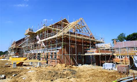 house building housebuilding falls for in 18 months ons says