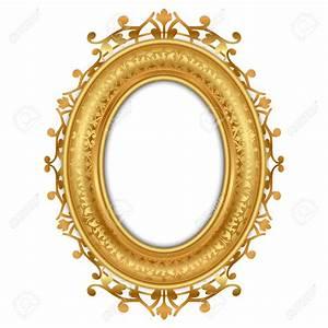 Oval Gold Frame Clipart & Oval Gold Frame Clip Art Images ...