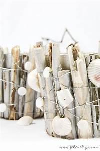 Mit Muscheln Basteln : sommer deko zum selbermachen hol dir den strand nach hause mit diesen maritimen diy ~ Orissabook.com Haus und Dekorationen