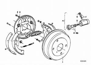 Service Manual  2004 Bmw 525 Brake Drum Structure