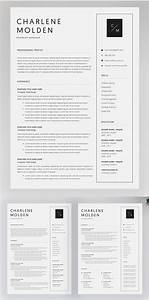 Microsoft Word Cover Letter Templates Professional Cv Resume Templates With Cover Letters