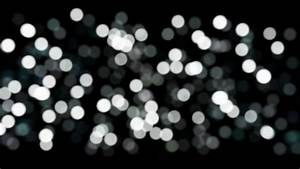 Black and Whtie Bokeh Lights Royalty Free Backgorund Video ...