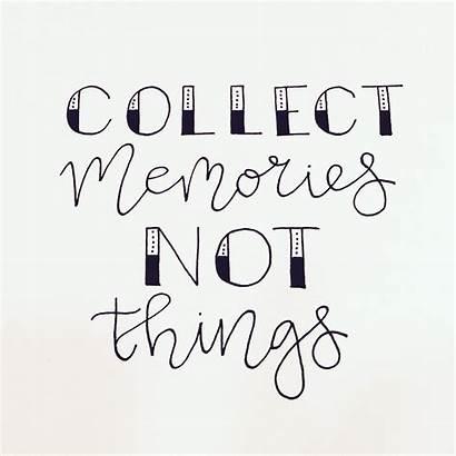 Memories Collect Journal Bullet Quotes Handlettering Leuke