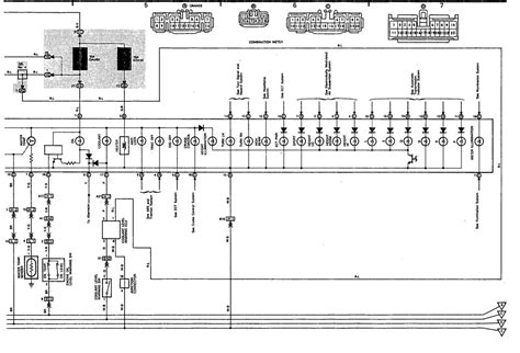 1992 Lexu Ls400 Fuse Box Diagram by Wiring Diagram For Instrument Cluster For 91 Ls400