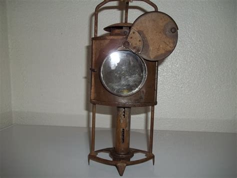 antique civil war era brass candle lantern collectors