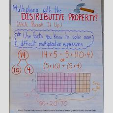 Teaching Multiplication With The Distributive Property Scholastic