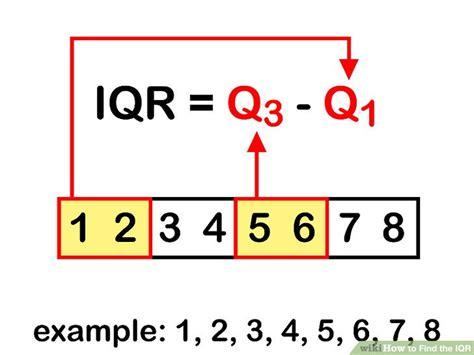 ways  find  iqr wikihow