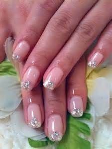 Pink and Silver Gel Nail Designs