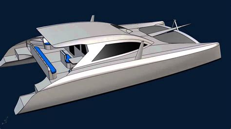Catamaran Cad Design by G Force 1500 Sailing Catamaran Schionning Designs Cad