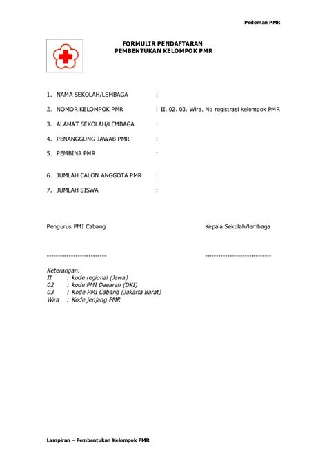 contoh surat edaran ketua osis manajemen pmr