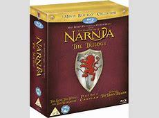 The Chronicles of Narnia Trilogy Bluray Zavvi