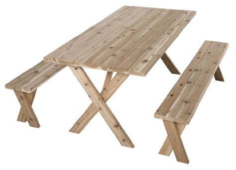 wooden picnic table with umbrella wooden picnic table american cross leg outdoor dining
