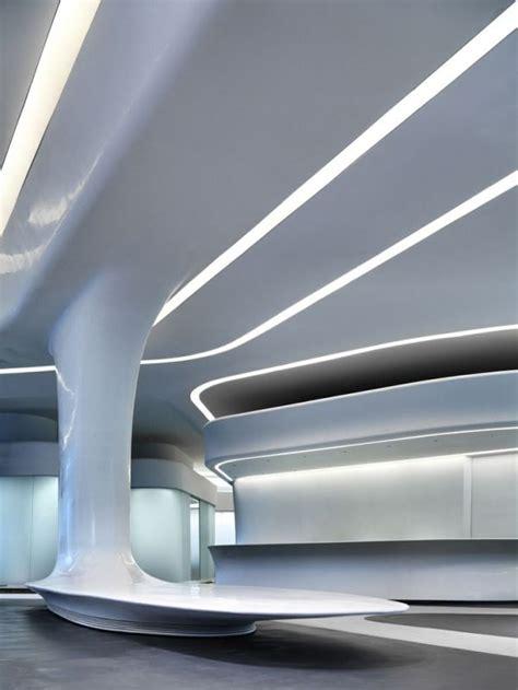 Futuristic Interior, Zaha Hadid, Futuristic Architecture