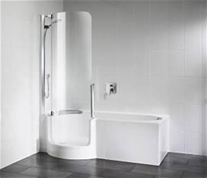 Sitzbadewanne Mit Dusche : badewanne mit t r testsieger preisvergleich ~ Frokenaadalensverden.com Haus und Dekorationen
