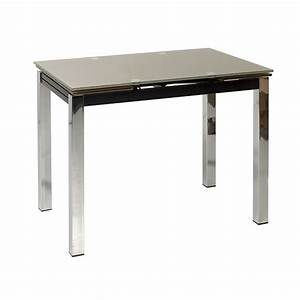 table de cuisine 90 x 70 lisa achat vente table de With table de cuisine moderne en verre