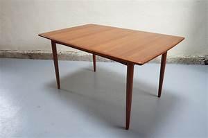Table A Manger Vintage : vendue table manger scandinave teck design danois vintage ann es 50 60 70 massif ~ Teatrodelosmanantiales.com Idées de Décoration