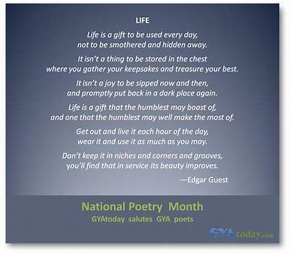Gift Poems Words Edgar Guest Inspirational Poem
