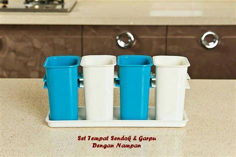 jual tempat sendok dan garpu peralatan dapur 4in1 unik
