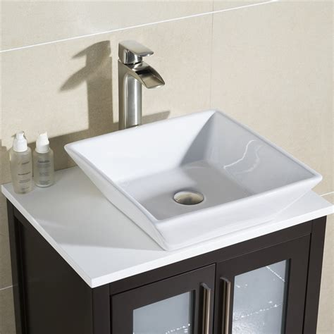 alternatives to kitchen cabinets vanity fulton 24 with vessel sink 4024