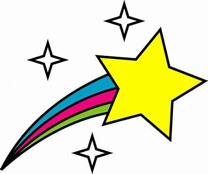 Star Clip Clipart Shooting Symbol Space Stars
