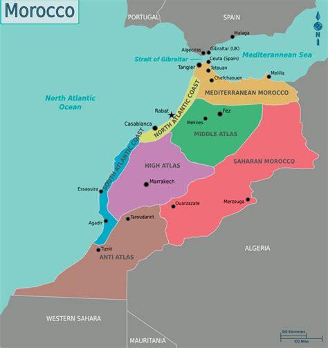 Ģeogrāfiskā karte - Maroka - 891 x 949 Pikselis - 225.92 ...