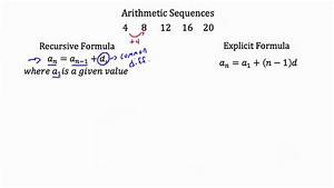 Arithmetic Sequences - YouTube