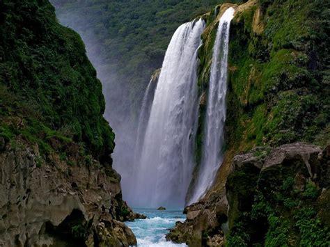 Cascada De Tamul San Luis Potosi Mexico Lugares