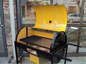 Fabriquer Un Barbecue Avec Un Bidon : comment fabriquer un barbecue en inox ~ Dallasstarsshop.com Idées de Décoration