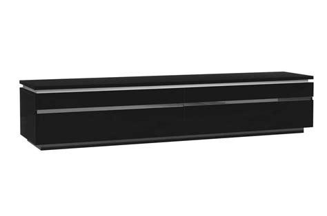 chambre à coucher complète adulte meuble tv 220 cm blanc ou noir brillant trendymobilier com