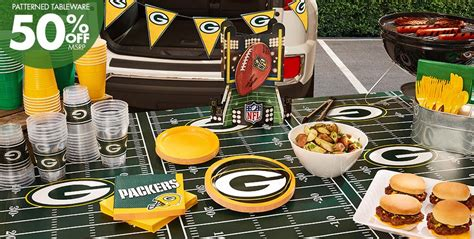 packers decor nfl green bay packers supplies decorations