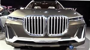 Bmw X7 2017 : bmw x7 concept exterior walkaround debut at 2017 la auto show youtube ~ Medecine-chirurgie-esthetiques.com Avis de Voitures