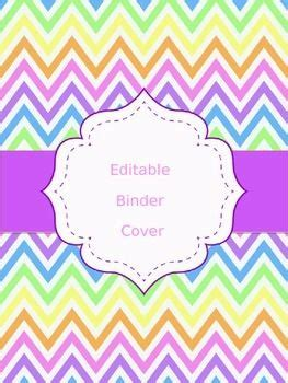 editable binder cover templates the world s catalog of ideas