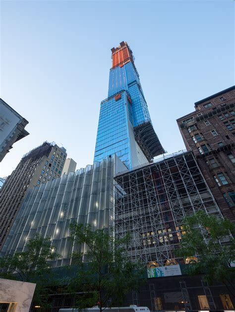 Central Park Tower Climbs Past 1100 Feet As Cladding And