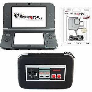 Nintendo 3ds Xl Auf Rechnung : new nintendo 3ds xl metallic black retro nes controller case pack nintendo official uk store ~ Themetempest.com Abrechnung