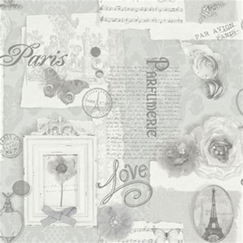grey shabby chic wallpaper arthouse felicity silver grey calligraphy butterfly vip shabby chic wallpaper 665401