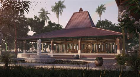 Gambar Rumah Joglo Sederhana Jawa  Rumah Minimalis