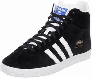 adidas Gazelle OG Mid W shoes black
