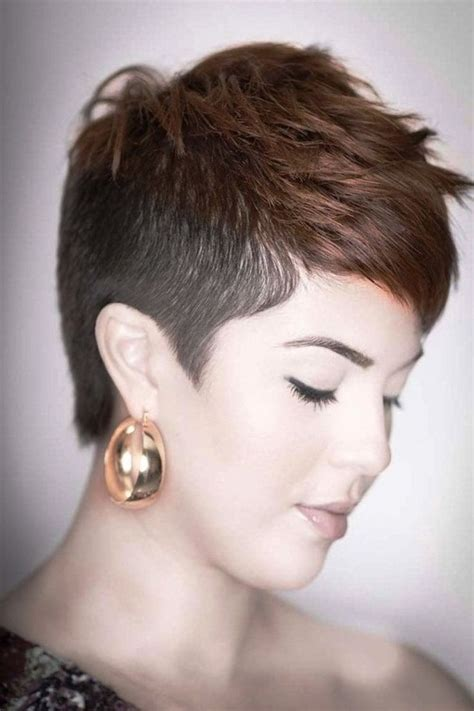 1000 ideas about short shaved hairstyles on pinterest