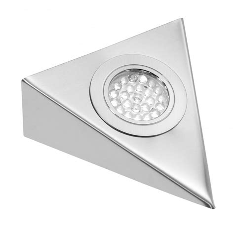 eld cabinet triangle light led cabinet eld chrome