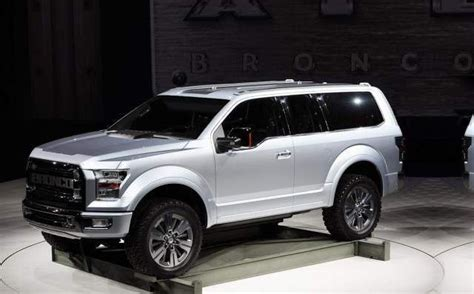ford bronco diesel rumors price  specs