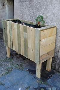 Palette De Bois : jardini re en bois de palette palettes de bois pinterest ~ Premium-room.com Idées de Décoration
