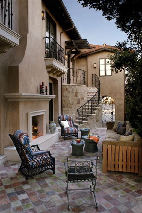 cozy rustic patio designs digsdigs