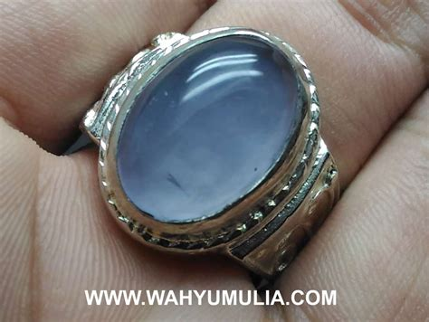 batu cincin akik biru spirtus baturaja asli kode 590