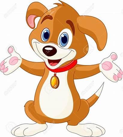 Puppy Clipart Dog Illustration Clip Raising Hands