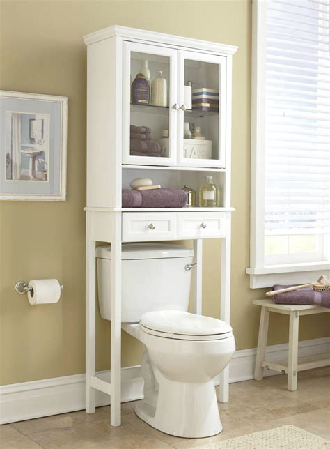 The Toilet Etagere Ikea by Wooden Two Door The Toilet Bathroom Etagere Wd 4160