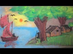 Drawings of Nature Scenery